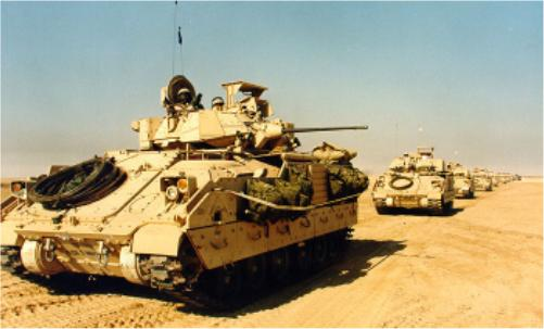 M3 Bradley Vehicle
